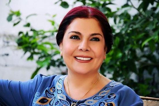 """صور صباح الجزائري تكشف عن زيادة وزنها في الجزء الثامن من مسلسل """"باب الحارة"""""""