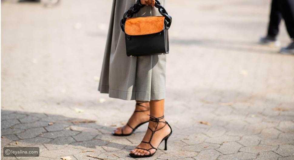 صندل سترابي أسودStrappy Black Sandals