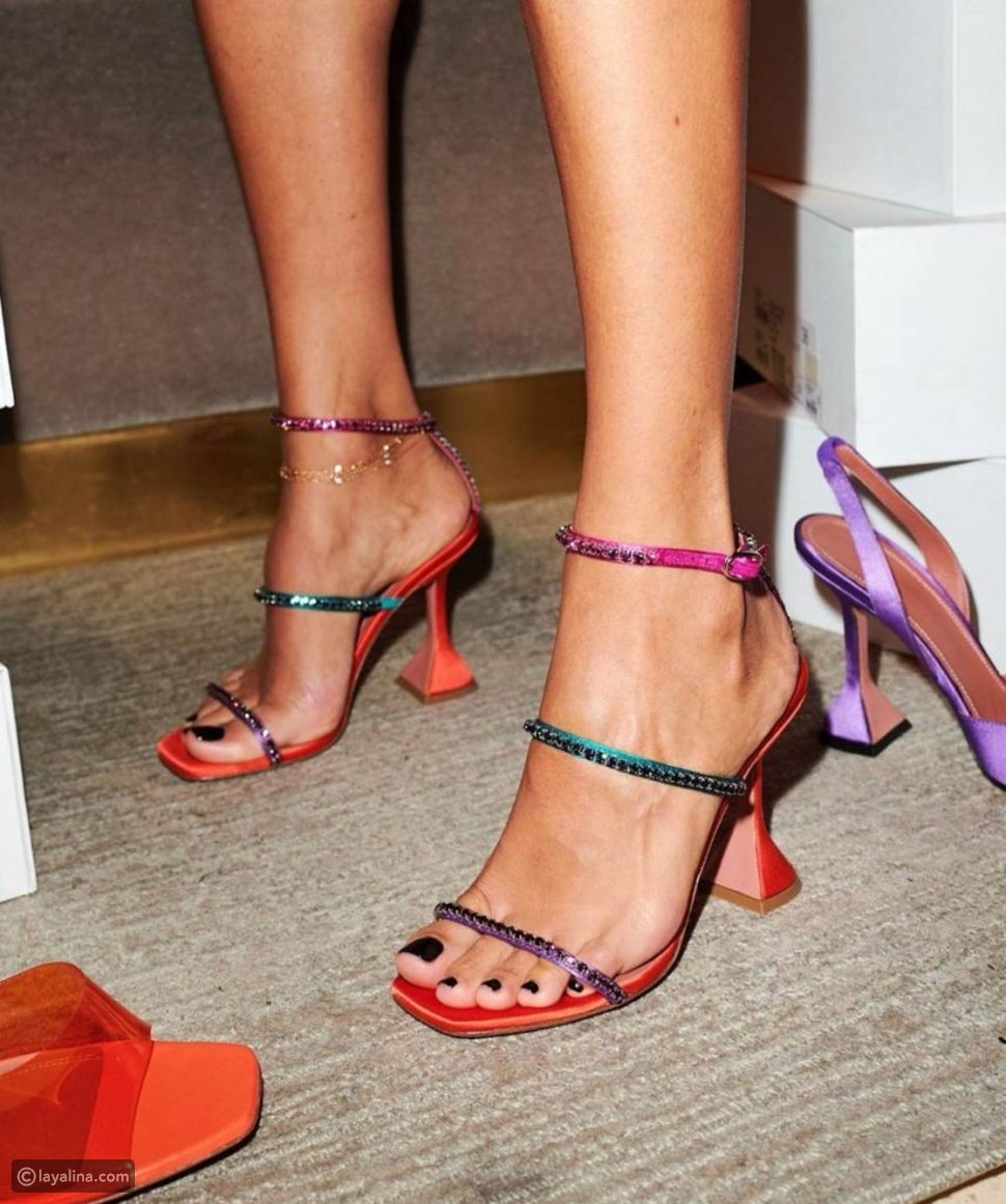 أحذية Amina Muaddi