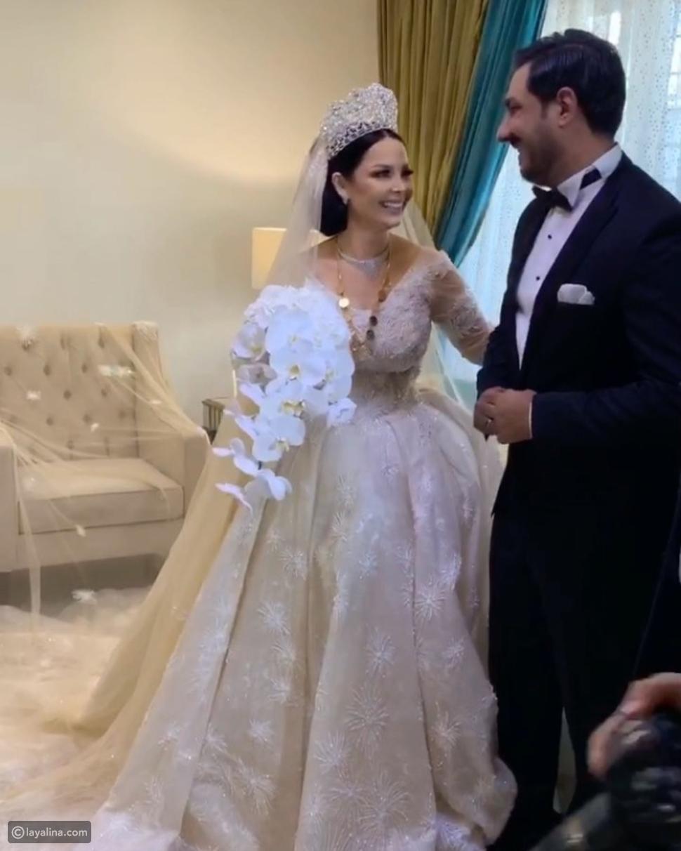 حفل زفاف ديانا كرزون