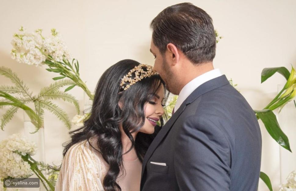 زواج ديانا كرزون ومعاذ العمري