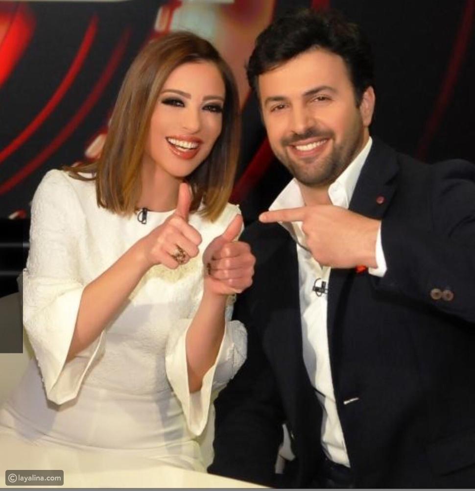 """وفاء الكيلاني وتيم حسن من برنامج """"الحكم"""""""