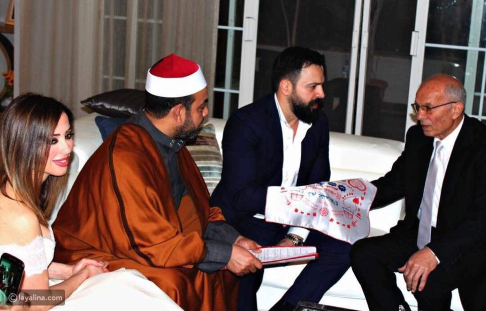 عقد قران تيم حسن ووفاء الكيلاني