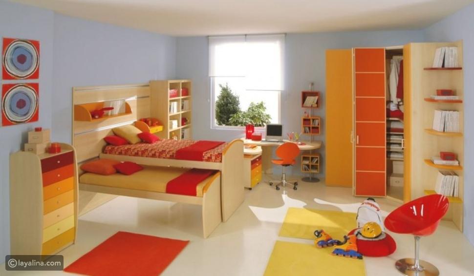 غرف نوم أطفال 2021