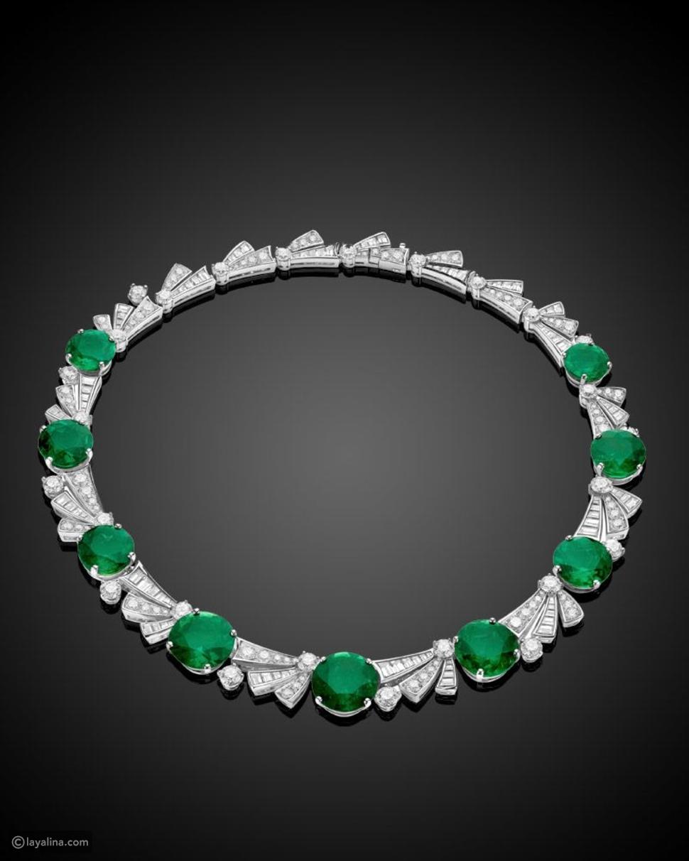جوهرة Emerald Elipse