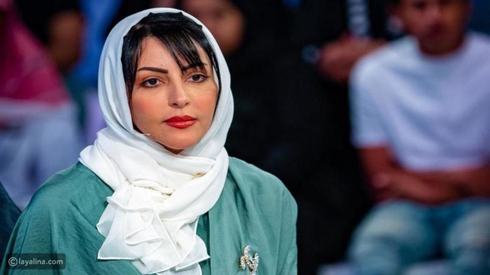 ملاك الحسيني تبكي بسبب ابنها ريان