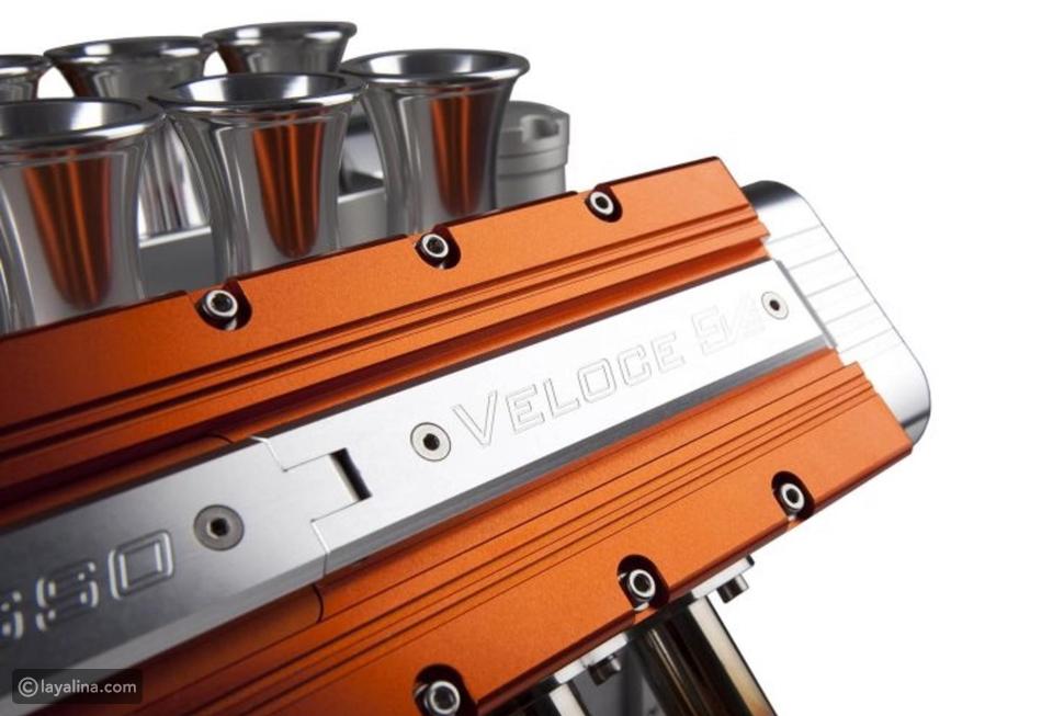 لعشاق القهوة والسيارات: اصنع مشروبك بمحرك فورمولا1