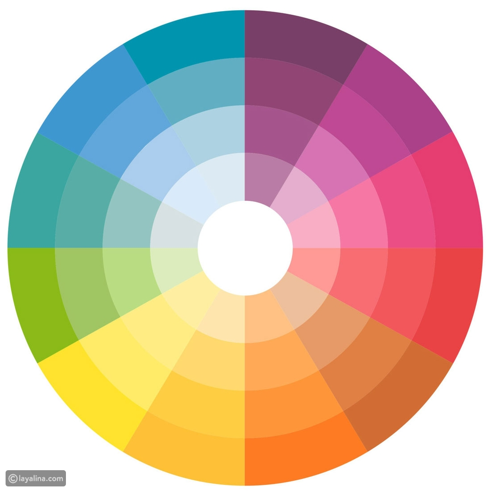 color blocking wheel