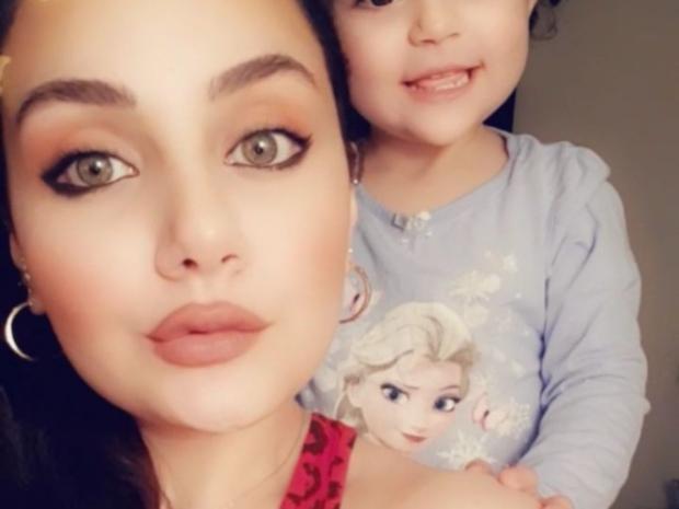 زينت فياض ابنة هيفاء وهبي