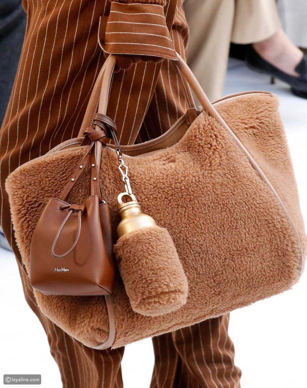 حقيبة ماكس مارا جرايسي شيرلينغ كبيرة من الجلد