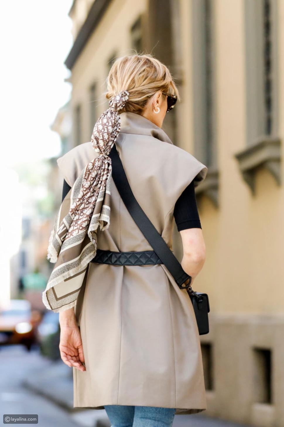 أخطاء في الموضة لا يجب أن ترتكبيها بعد الآن: وشاح الرقبة
