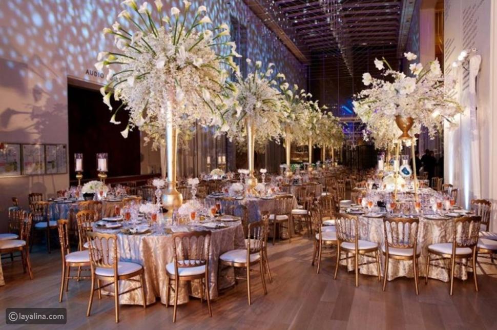 اختيار موقع حفل الزفاف