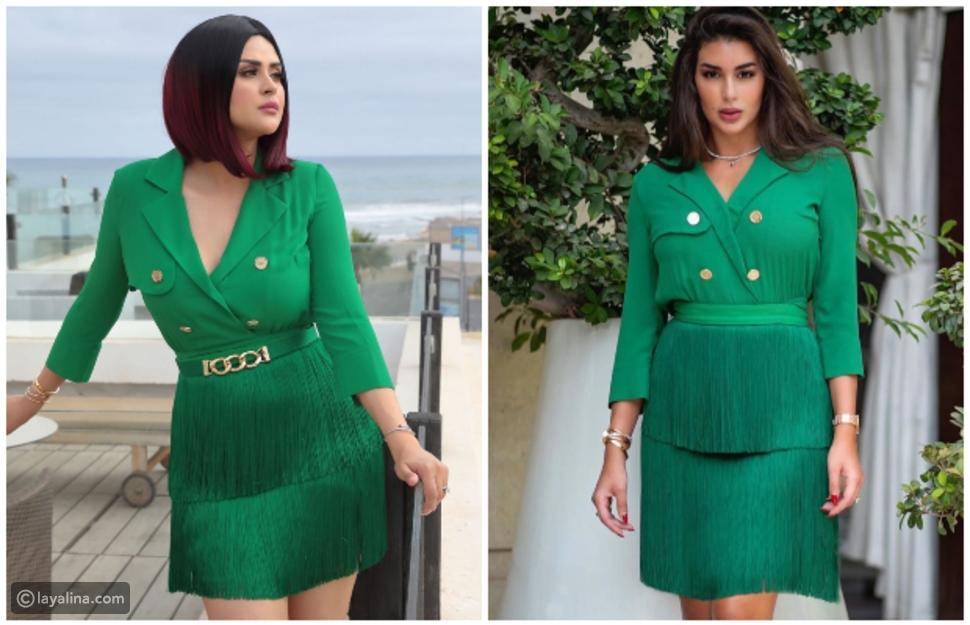 مقارنة بين ياسمين صبري وسلمى رشيد بعد ظهورهما بنفس الفستان