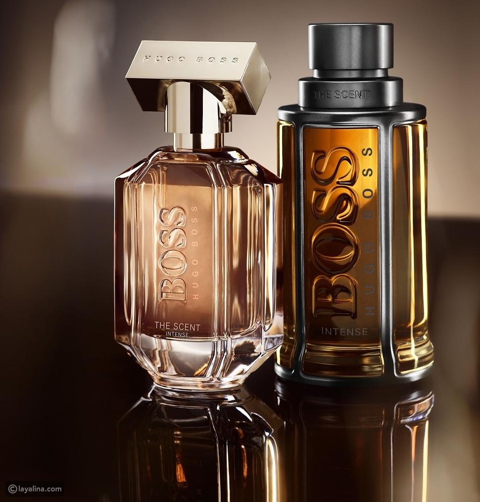 عطر Hugo Boss الجديد والذي يحمل اسم Scent Intense The بنسختيه الرجالية والنسائية الساحرتين