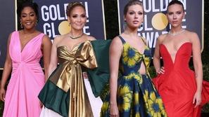 أصفر ووردي وأخضر: ألوان سيطرت على إطلالات المشاهير في حفل غولدن غلوب