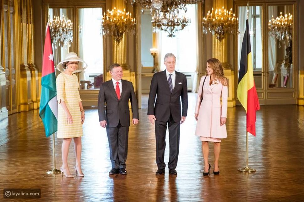 منافسة على الأناقة بين الملكة رانيا والملكة ماتيلد  في بلجيكا من الأجمل؟