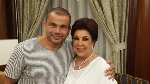 رجاء الجداوي تحذف تعليقها المثير للجدل عن عمرو دياب ودينا الشربيني