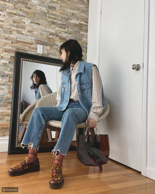 جوارب شفافة بألوان محايدة