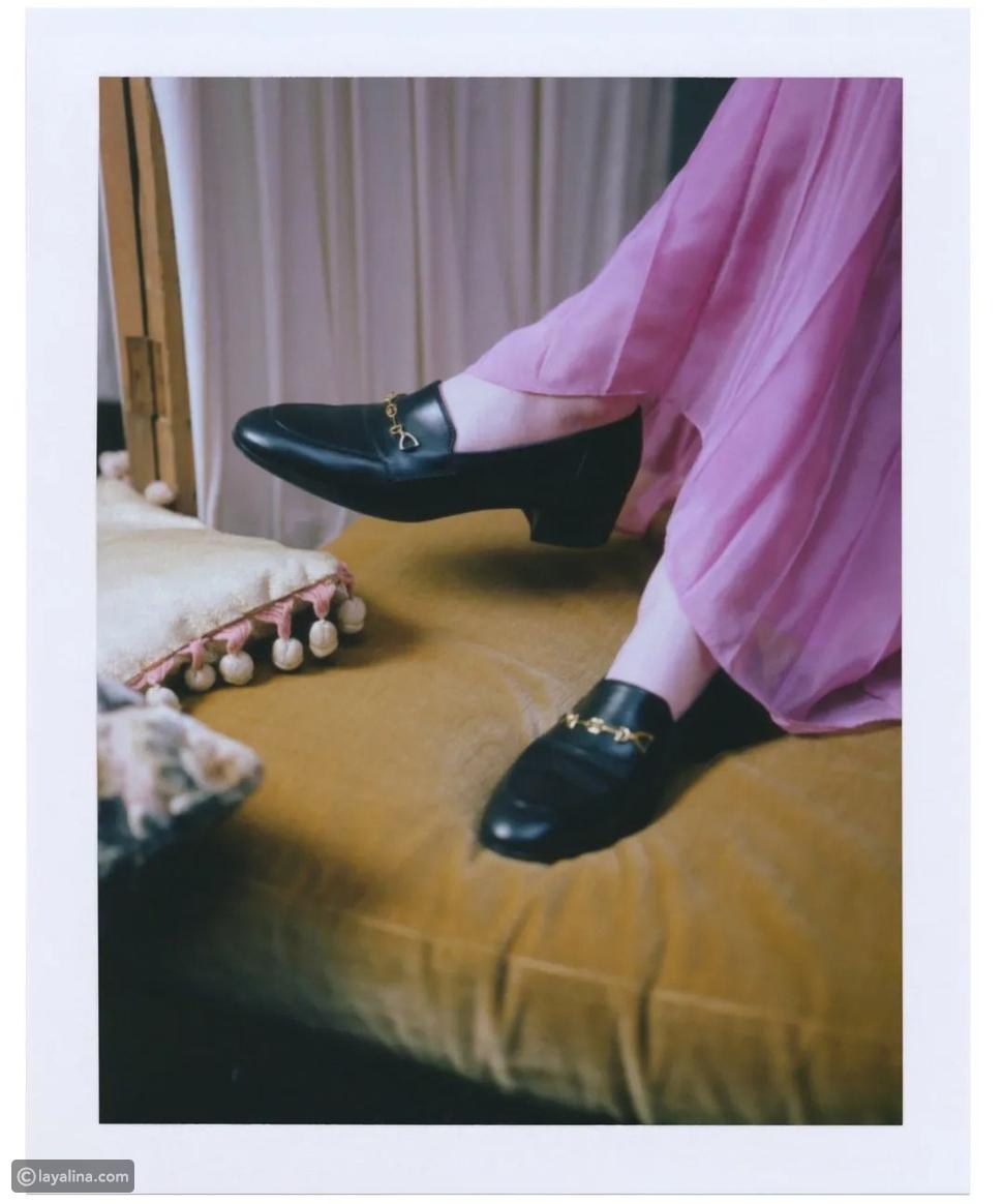 حذاء لوفر منGucci