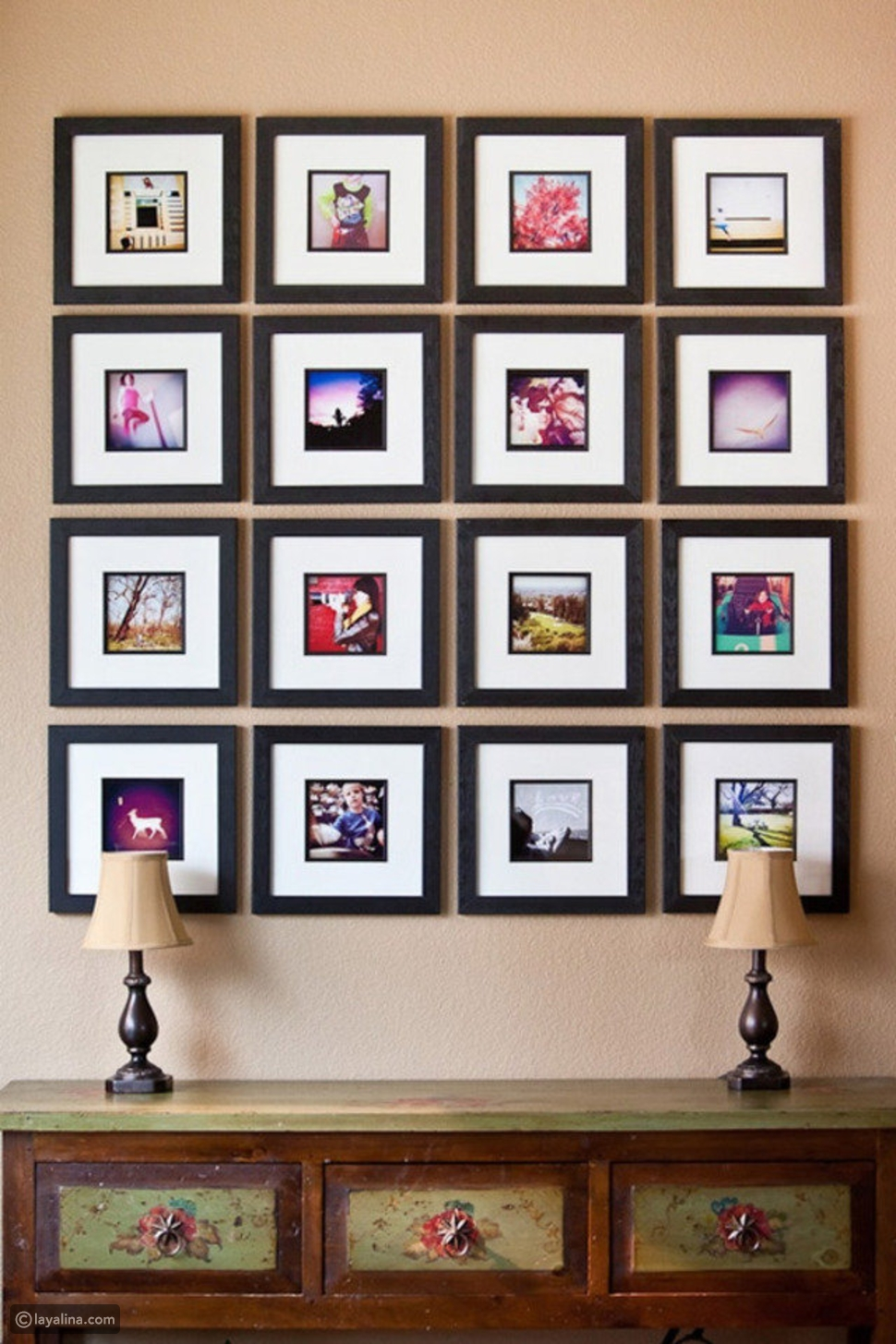 جدار الصور التذكارية