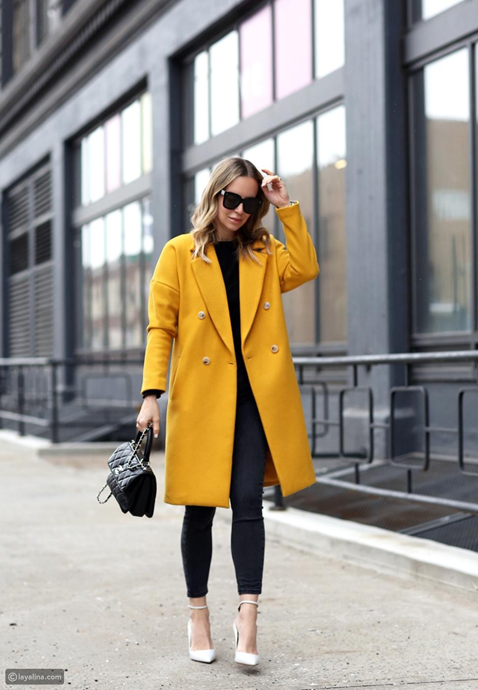 اللون الأصفر