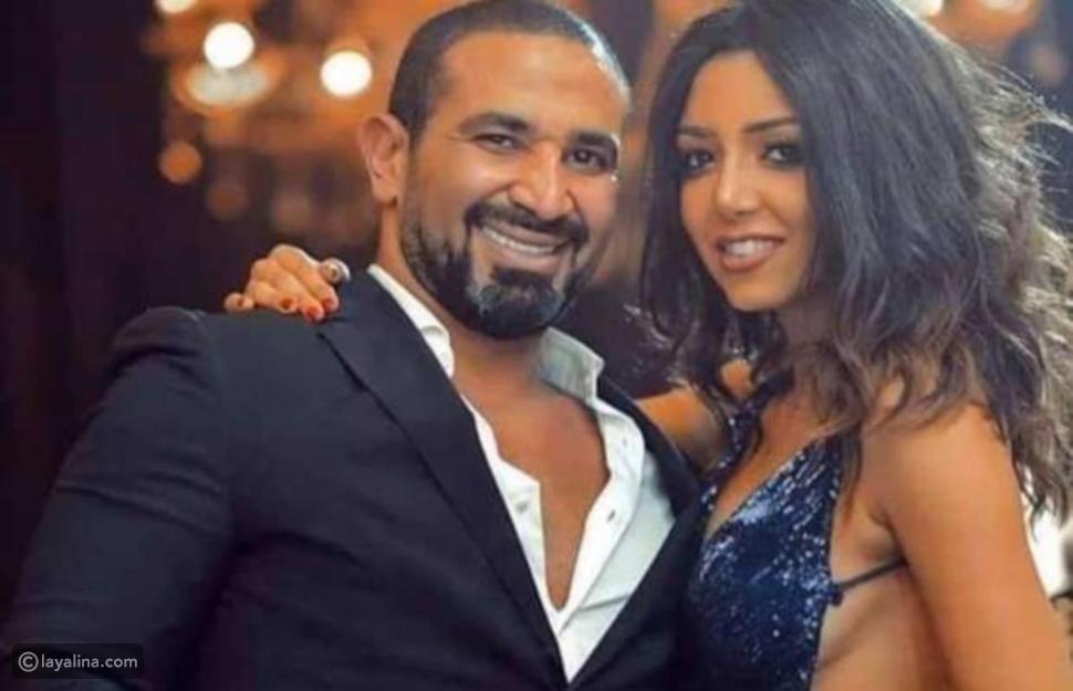أحمد سعد وخطيبته علياء بسيوني