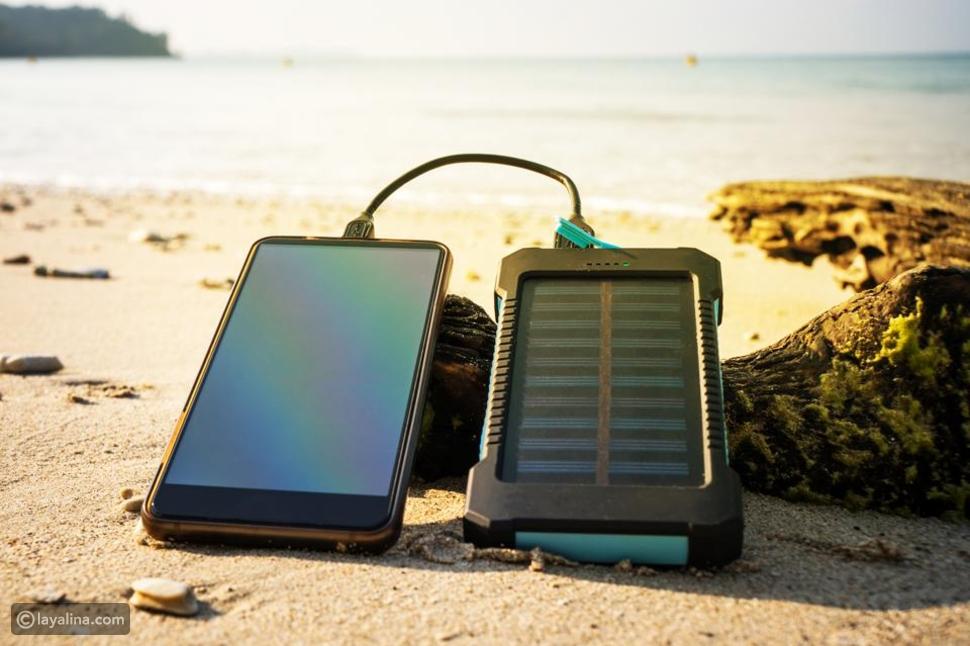 جهاز الشحن بالطاقة الشمسيةVOOE Solar Powerbank