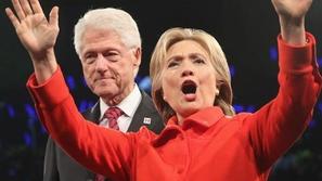 فيديو رد فعل هيلاري كلينتون على نظرات زوجها بيل كلينتون لإيفانكا ترامب