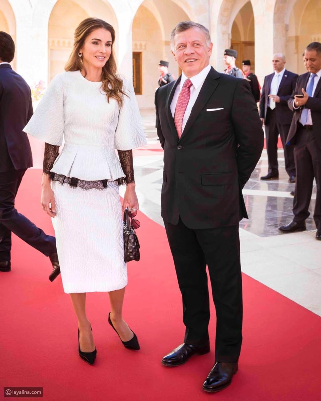 الملكة رانيا العبدالله ترتدي أزياء هوت كوتور من تصميم جورج حبيقة