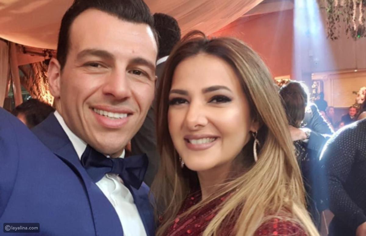 زوج دنيا سمير غانم غاضب بعد التجريح في صورة ابنته ليالينا