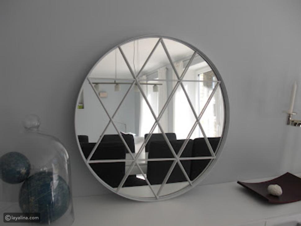 ديكور المرايا: أفكار مرايا مبتكرة لمنزل عصري