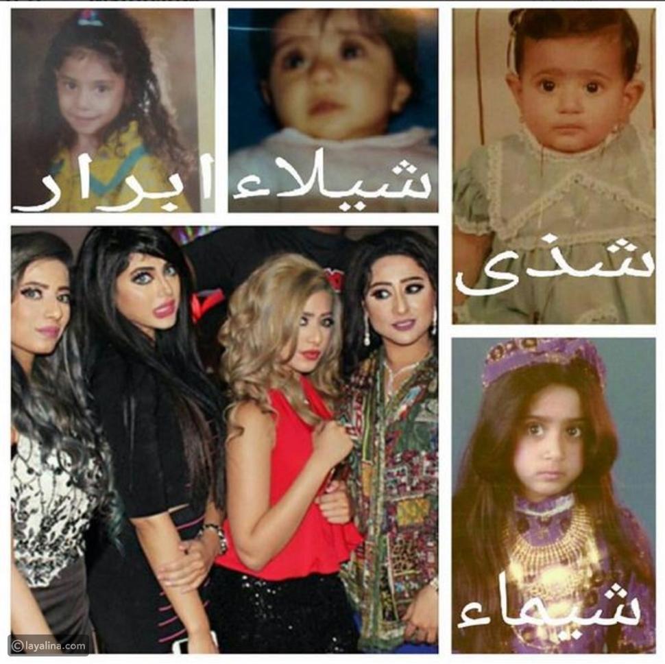 صورة شيماء سبت وشقيقتها أيام الطفولة فهل تغيرت ملامحهن؟