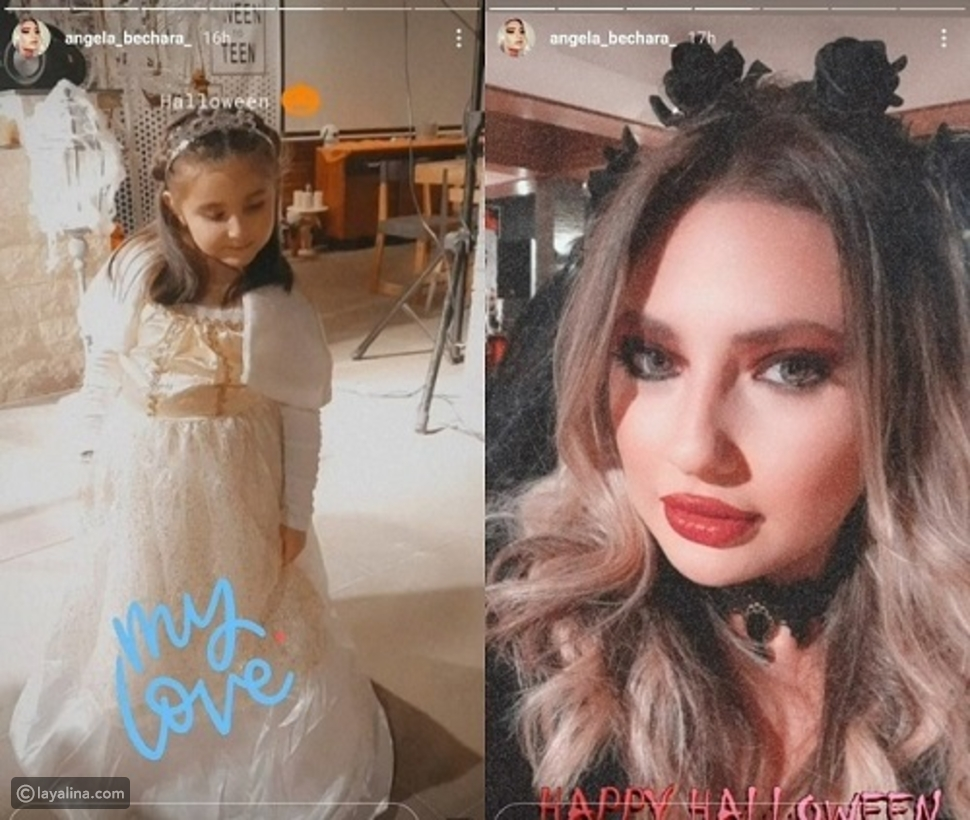 طليقة وائل كفوري تحتفل بالهالوين وتنشر صورة ابنتهما واضحة لأول مرة