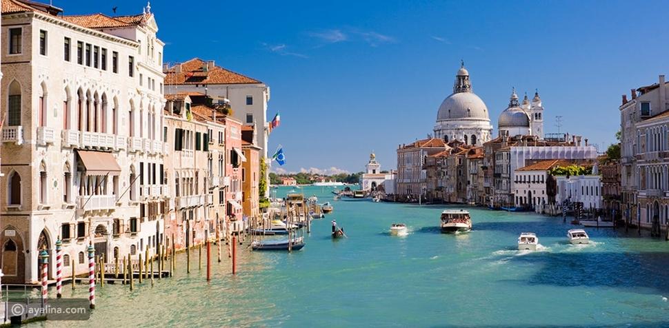 7 أماكن في إيطاليا الأكثر  رومانسية لقضاء شهر العسل