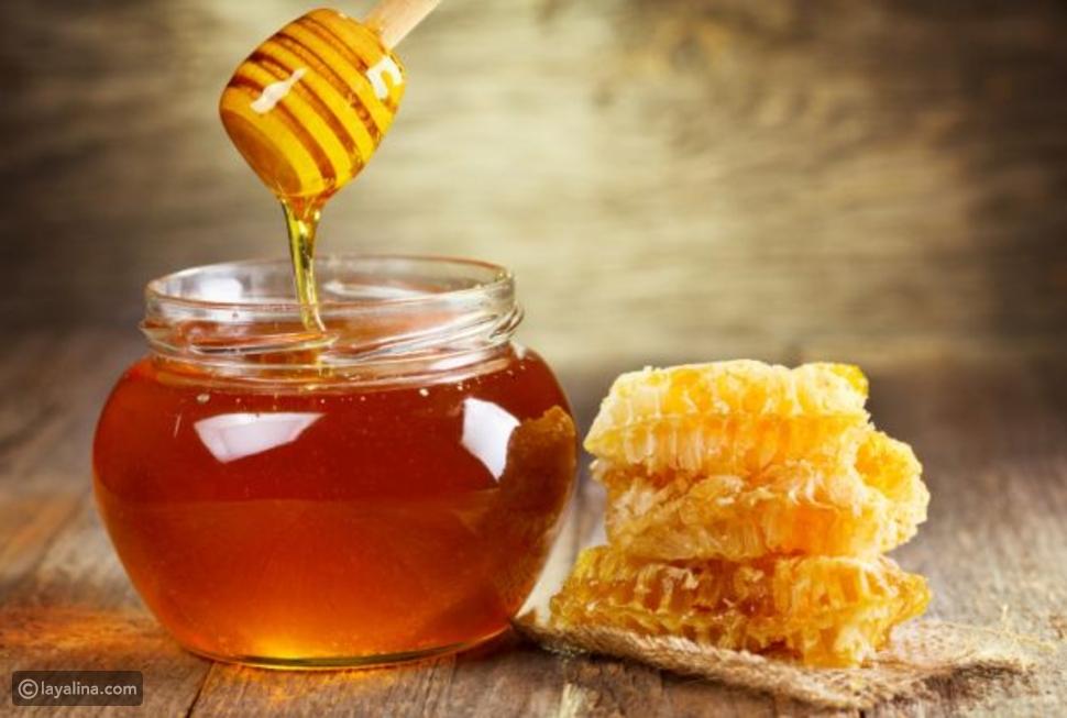 العسل لتبييض الابط
