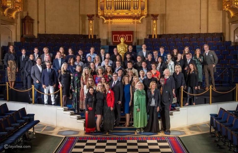 بالصور: يسرا على السجادة الحمراء بحفل جوائز الأوسكار 2020 Oscars