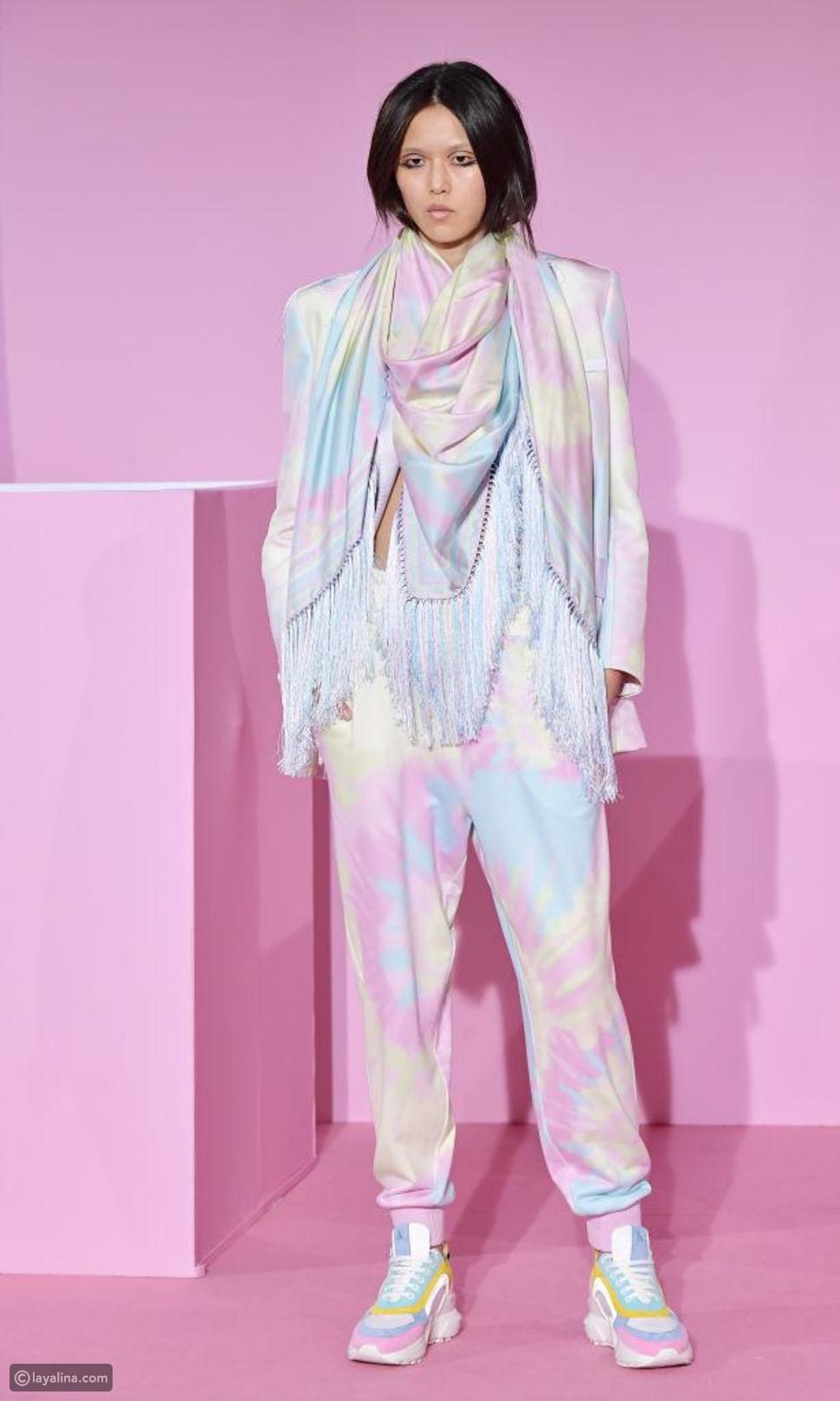 أزياء ملونة أومبري