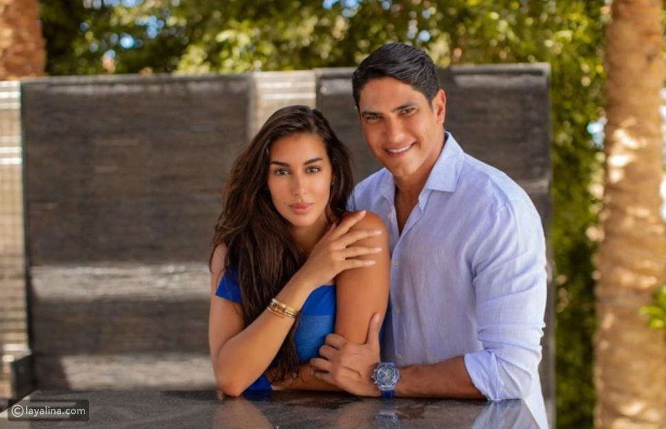 ياسمين صبري تنفي طلاقها بهذه الصورة مع زوجها أحمد أبو هشيمة