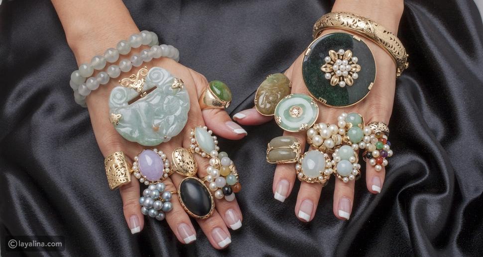 مجوهرات نحتية