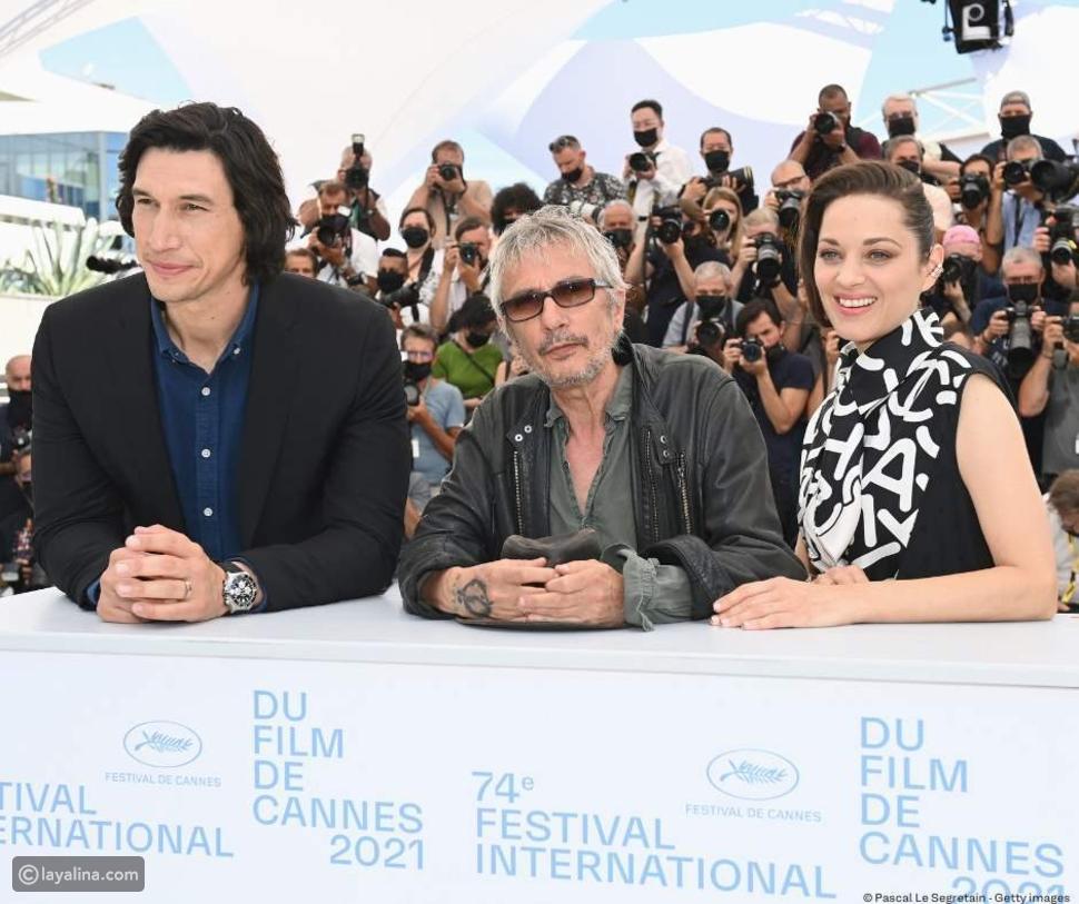 جلسة تصوير خاصة لأبطال Annette: فيلم افتتاح مهرجان كان 2021 Cannes