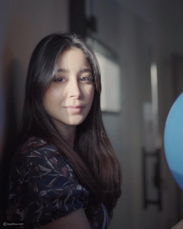 أسيل عمران في تحدي البالون من أجل التوعية بمرض السكري