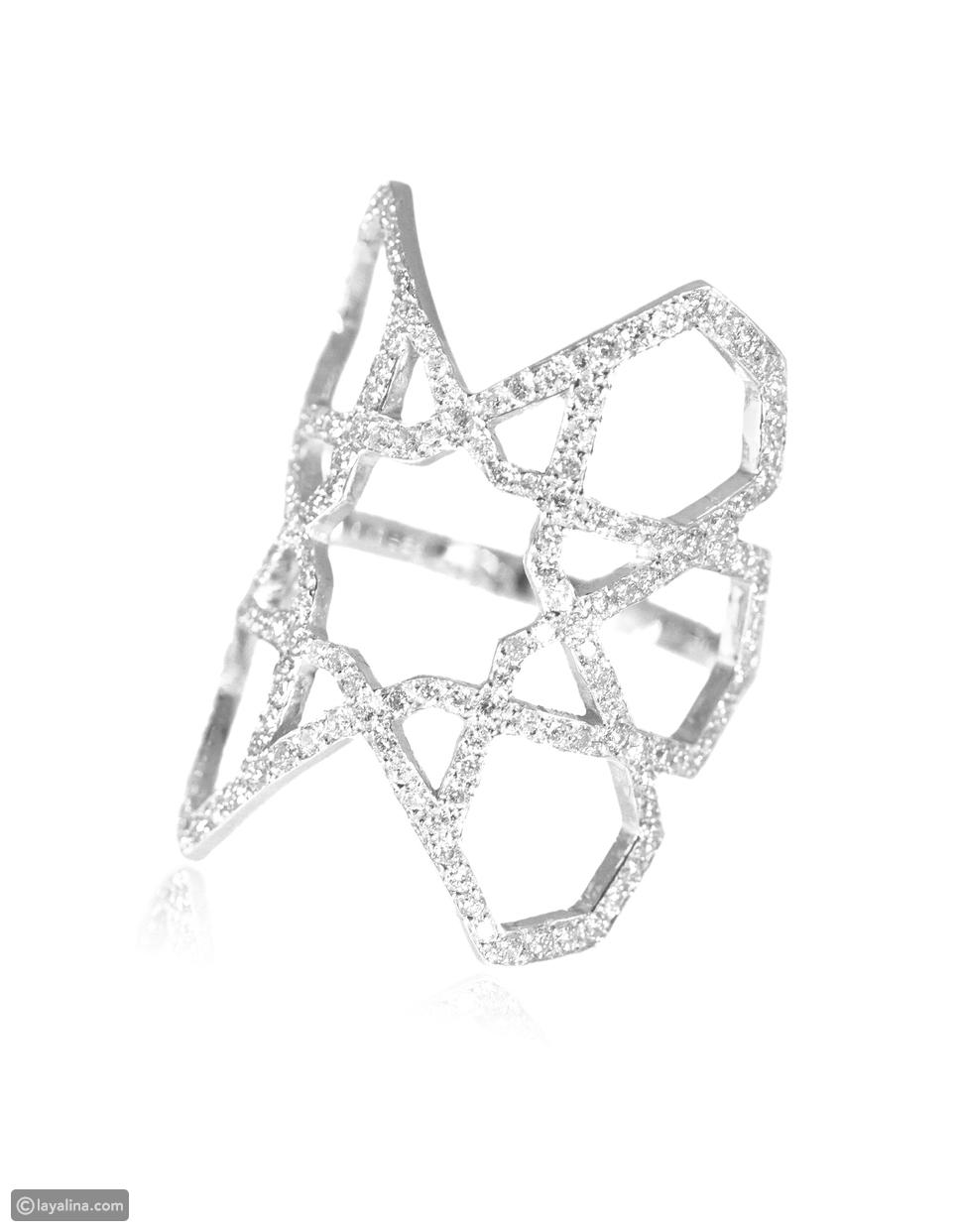 الملكة رانيا ترتدي من مجوهرات رالف المصري