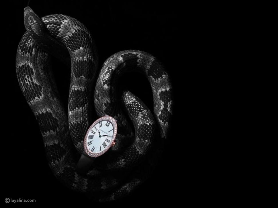 ساعة تيفاني آند كو كوكتيل البيضوية المصنوعة من الذهب الوردي عيار 18 قيراطاً