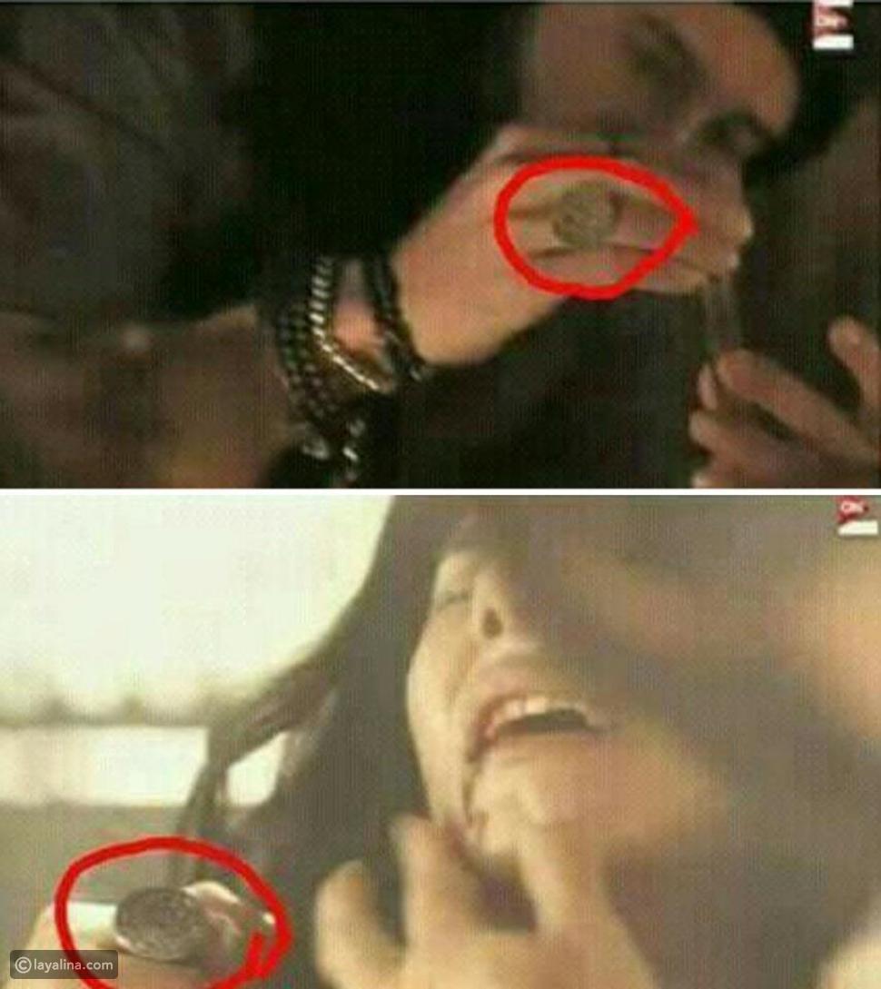 الخاتم الذي يرتديه يوسف الشريف هو نفسه الذي ارتدته ريحانه