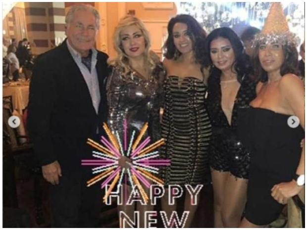 هكذا أطلت رانيا يوسف بحفل رأس السنة
