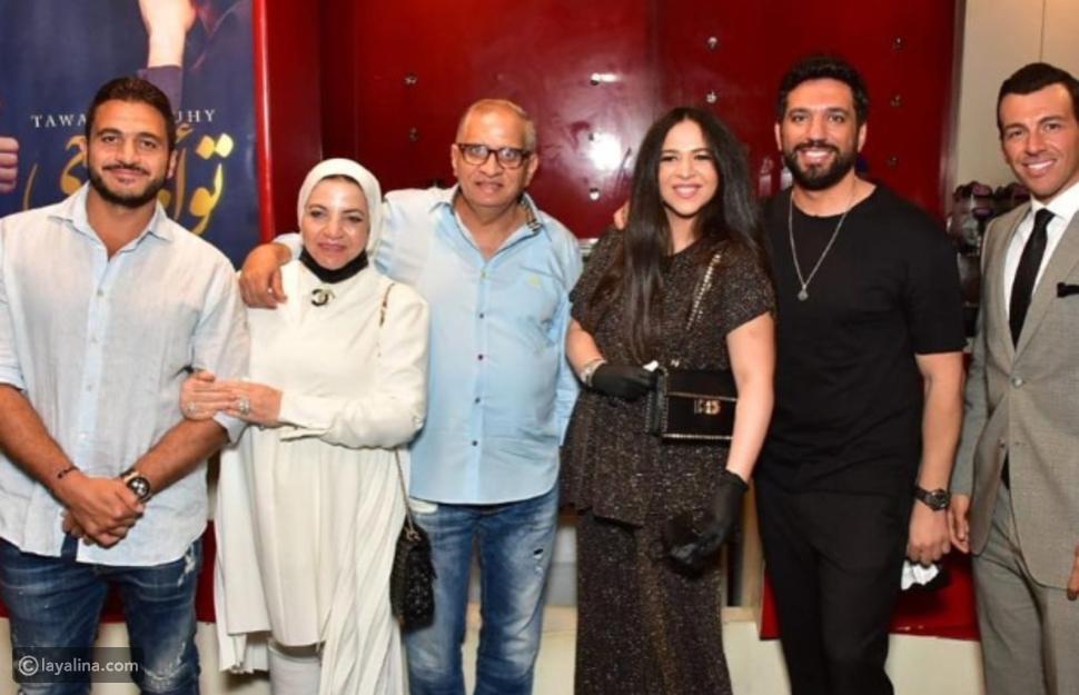 أول ظهور لإيمي سمير غانم وحسن الرداد بعد شائعة انفصالهما
