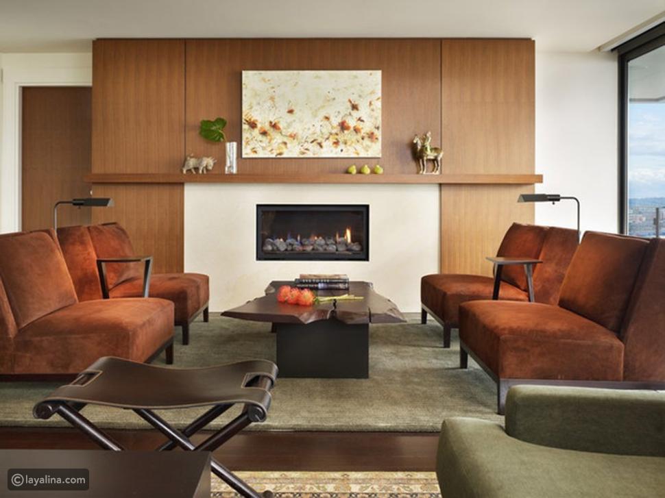 6 أفكار لديكور غرفة معيشة شتوية دافئة