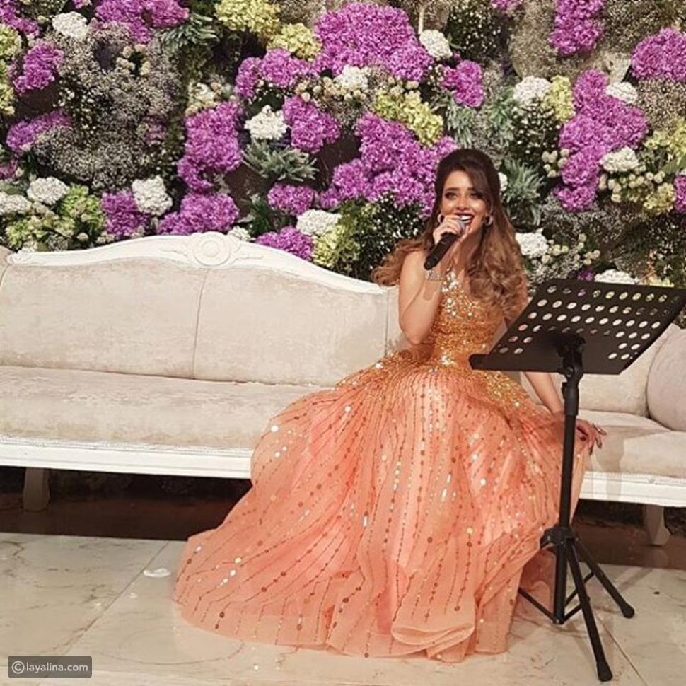 استلهمي فستان خطوبتك من أحدث إطلالة للنجمة اليمنية بلقيس فتحي