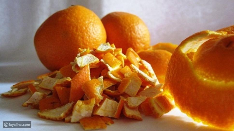 فوائد قشر البرتقال للبشرة