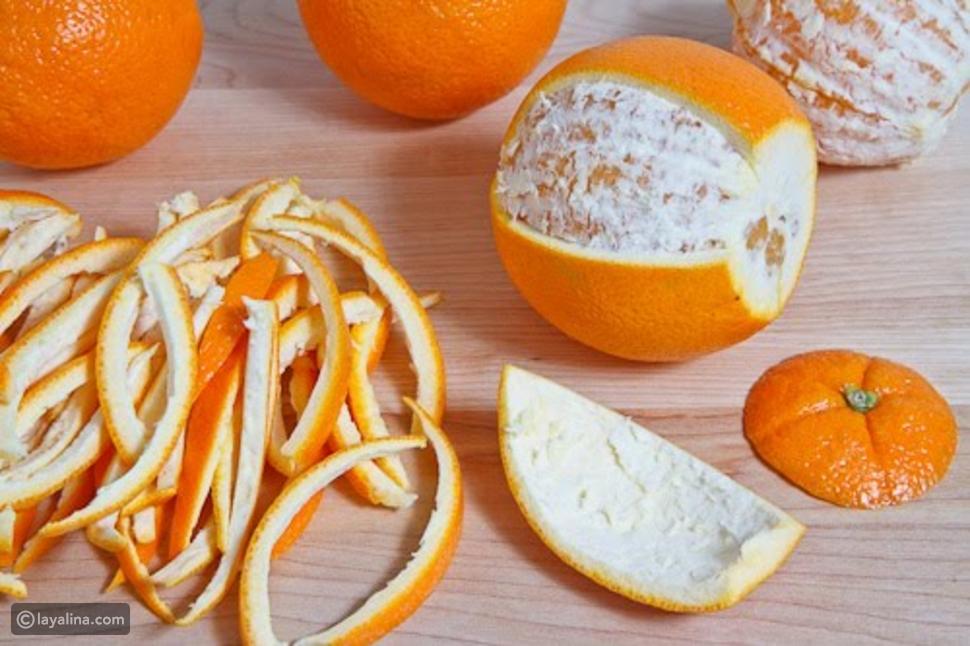 فوائد قشر البرتقال الصحية